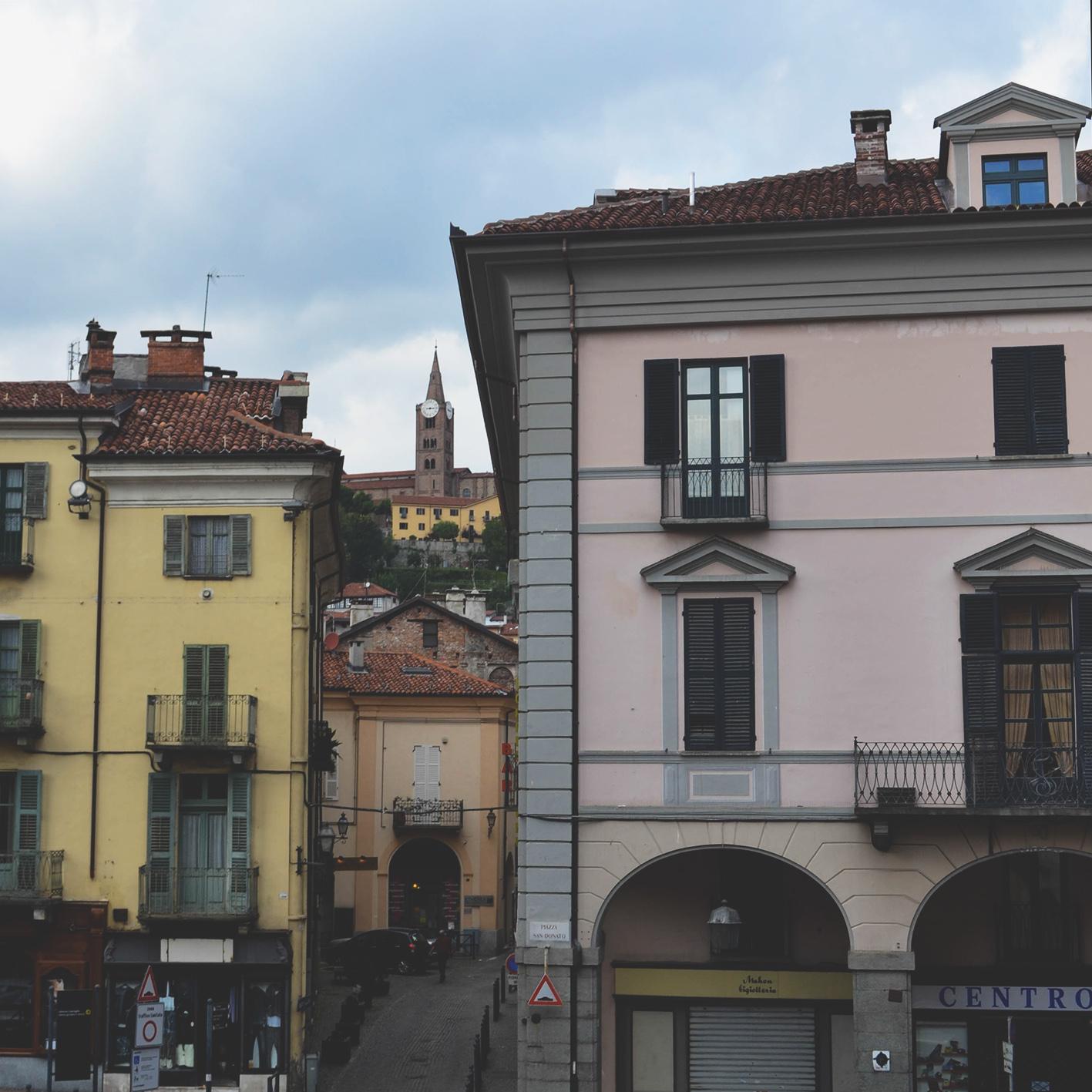 Vista sul centro storico